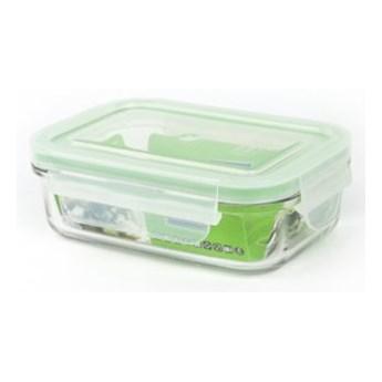 Pojemnik szklany GLASSLOCK MCRB-040 0.4 L Zielony