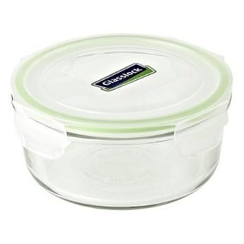 Pojemnik szklany GLASSLOCK MCCB-040 0.37 L Zielony
