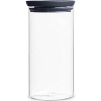 Pojemnik szklany BRABANTIA 298264 1.1 L Grafitowy