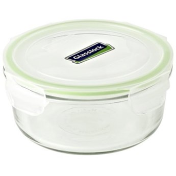 Pojemnik szklany GLASSLOCK MCCB-072 0.66 L Zielony