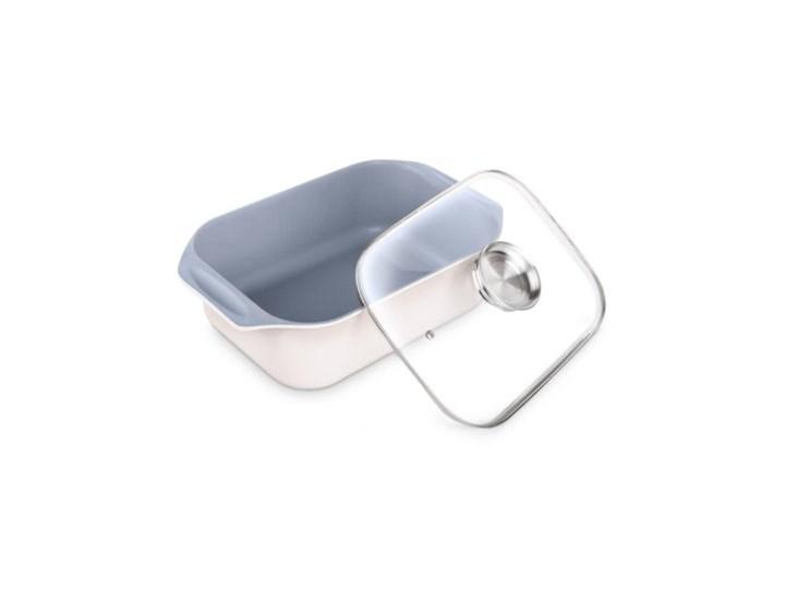 Brytfanna LAMART HL0803 Aroma Aluminium Naczynie z pokrywką Naczynie do zapiekania Ceramika Kolor Biały