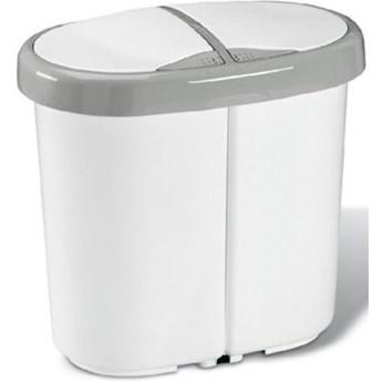Kosz na śmieci MELICONI Multispace Duo 25L Biały