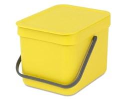 Kosz na śmieci BRABANTIA 109683 Sort & Go 6L Żółty