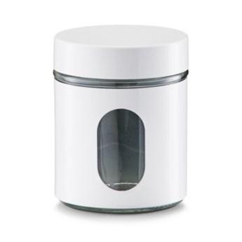 Pojemnik metalowy ZELLER 0.6 L Biały