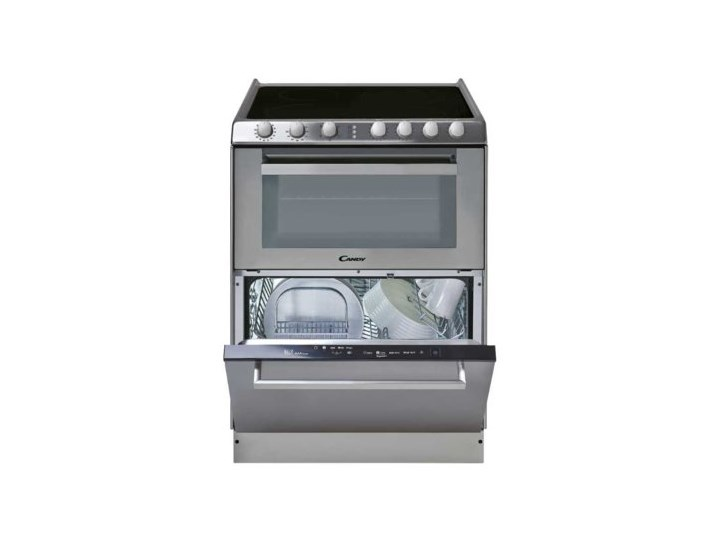 Kuchnia elektryczna ze zmywarką CANDY TRIO 9503/1 X/U