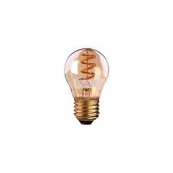 Żarówka FILAMENT LED E27 4W ciepła 3000K G45 gold spirala