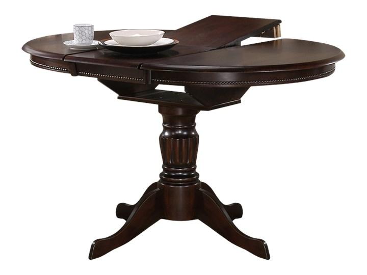 Stół rozkładany Valle 90-124x90 cm orzech