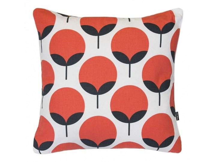 Koralowa poduszka dekoracyjna Oxford 45x45 cm