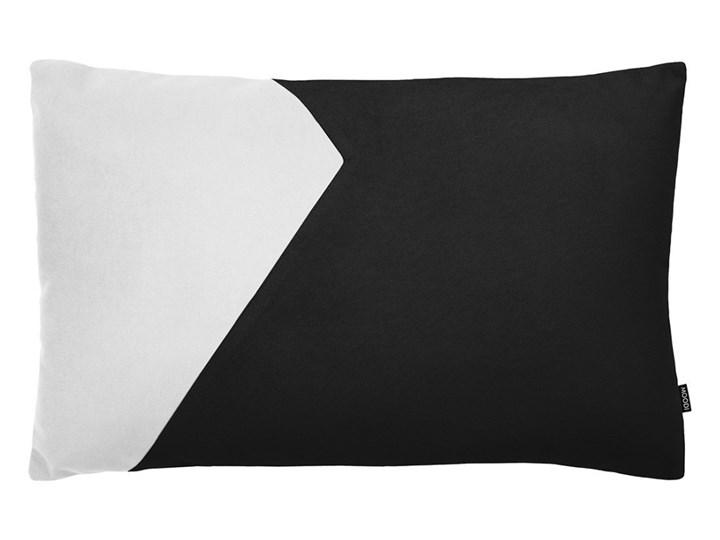 Poduszka dekoracyjna Cut czarno-biała