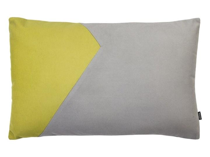 Poduszka dekoracyjna Cut szaro-oliwkowa