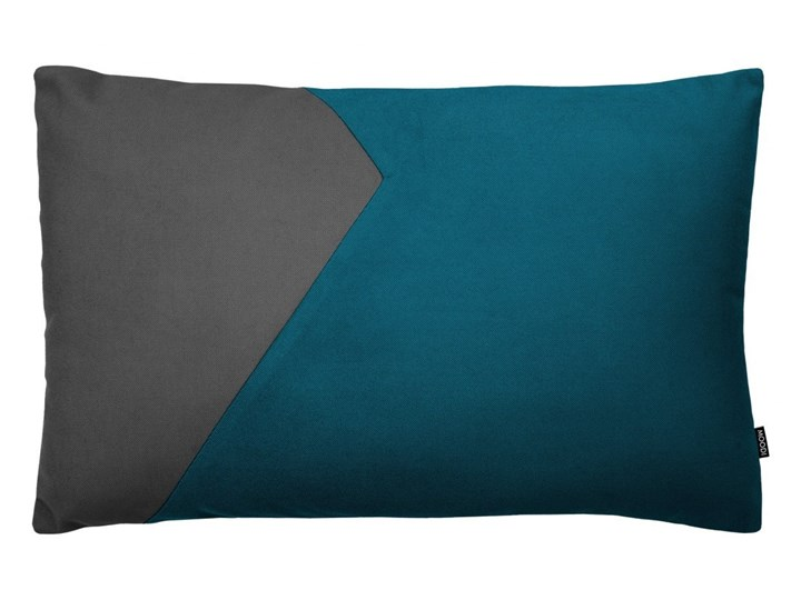 Poduszka dekoracyjna Cut szaro-zielona