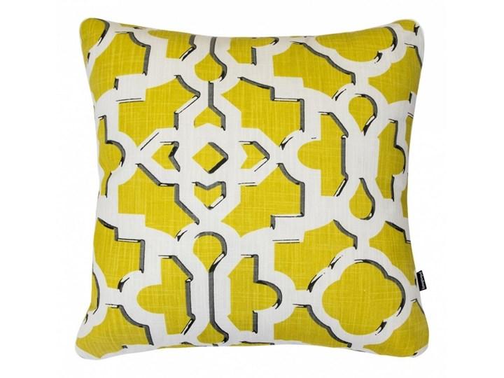 Żółta poduszka dekoracyjna Argo 45x45 cm