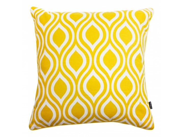 Żółta poduszka dekoracyjna Emily 45x45 cm