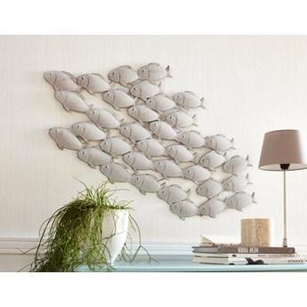 """Dekoracja ścienna """"Fisch""""Obraz Rzeźba Relif Ornament"""