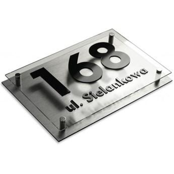 Tabliczka adresowa na dom aluminium 20x30