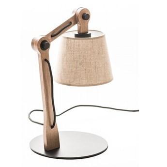 Lampa gabinetowa TATRA LG-1 Kandela Lighting LG-1 LG-1, Materiał oprawy: Jesion lakier, Tkanina abażuru: 6100   SPRAWDŹ RABAT W KOSZYKU !