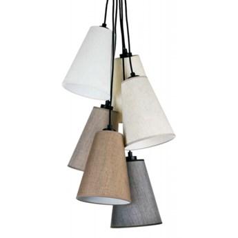 Lampa wisząca TATRA Z-6 Kandela Lighting Z-6 Z-6, Materiał oprawy: Jesion euro, Tkanina abażuru: 6207