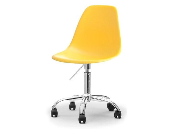 Obrotowe Krzesło Biurowe Z Regulacją Wysokości W Nowoczesnym Stylu Mpc Move Żółte