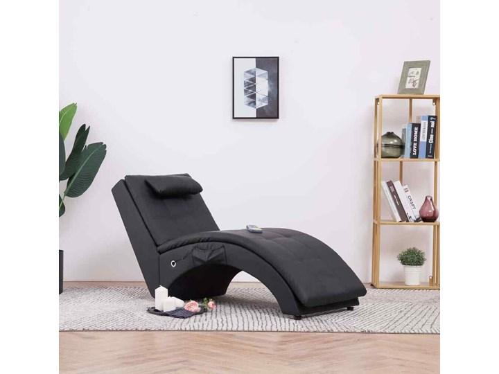 Fotel z masażem TALCO - skóra fotel masujący 5 kolorów