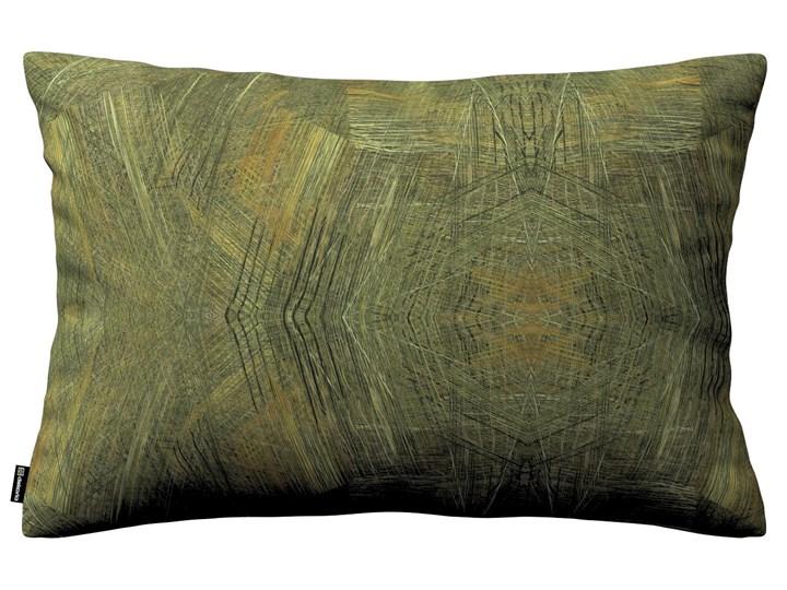 Dekoria Poszewka Kinga na poduszkę prostokątną, zgaszony zielony, 60 × 40 cm, Tropical Island