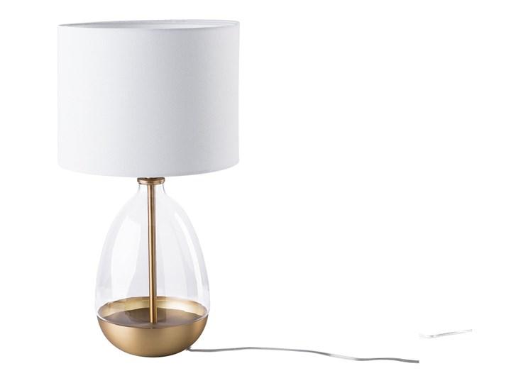 Lampa stołowa biała 64 cm OKARI