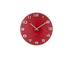 Zegar ścienny Vintage Round red by Karlsson