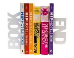 Podpórka do książek Book End white by pt,