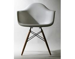 Nowoczesne krzesło inspirowane Eames DAW white PP