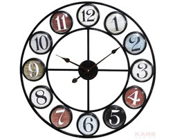 Zegar Ścienny Vintage Coloure 68 by Kare Design