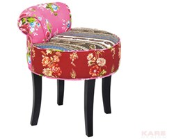 Stołek Backrest Patchwork by Kare Design