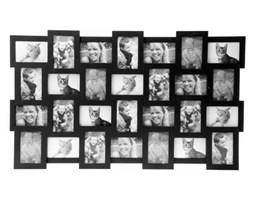 Ramka na zdjęcia na ścianę 28 in 1 black by pt,