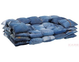 Sofa Jeans Cushions 2 - Seater by Kare Design