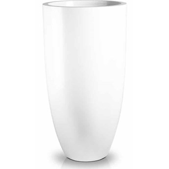 Donica Wysoka Bianco Fiber-Glass