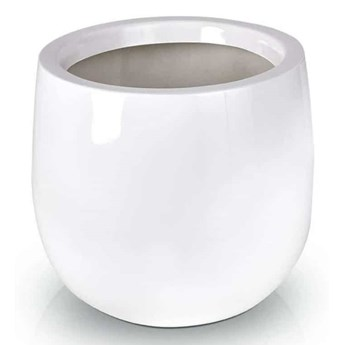 Donica Wysoka Misa Bianco Fiber-Glass