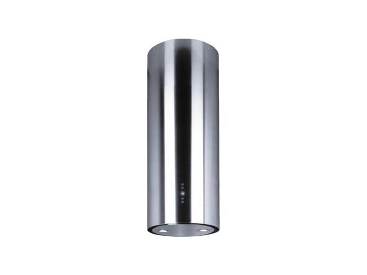 Okap VDB Tube Inox Szerokość 39 cm Sterowanie Elektroniczne Okap wyspowy Poziom hałasu 49 dB