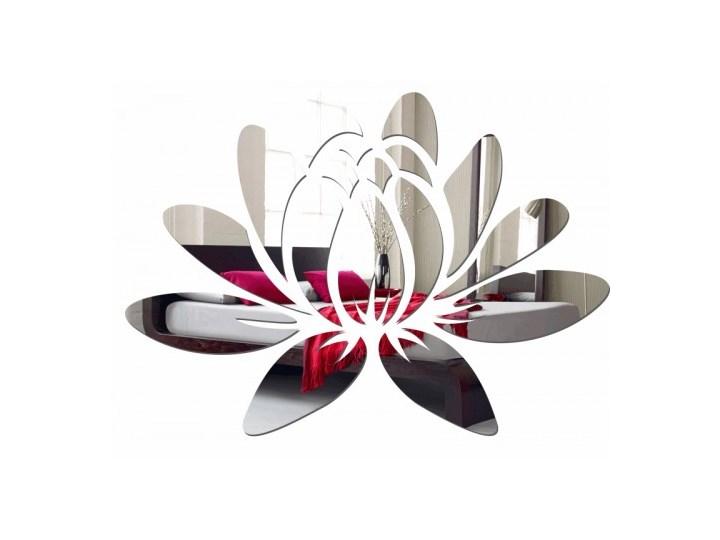 Lustro dekoracyjne lilia wodna Styl nowoczesny