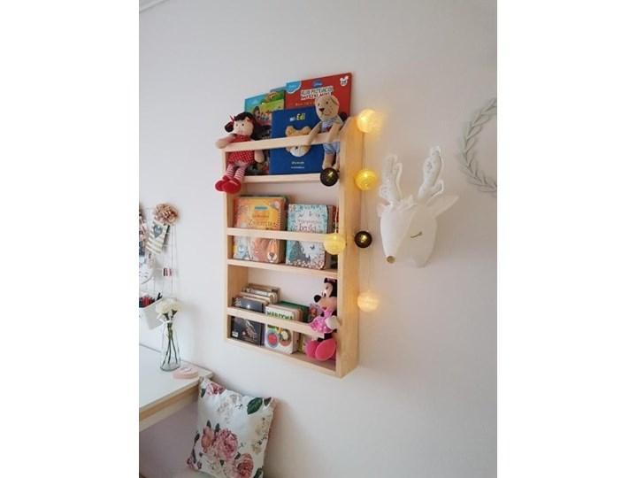 Drewniana Półka do Pokoju Dziecka