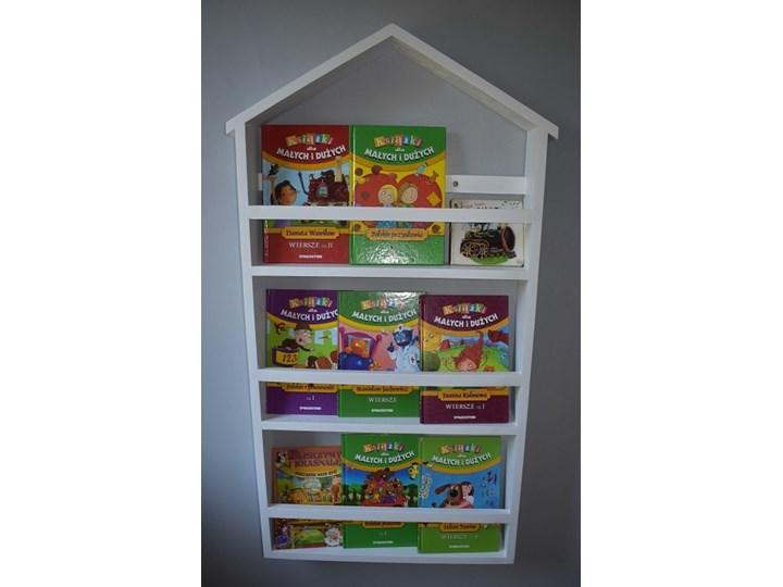 Drewniana Półka Domek do Pokoju Dziecka