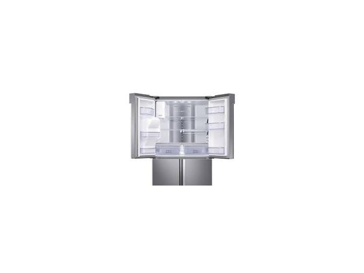 SAMSUNG FAMILY HUB RF56M9540SR Kostkarka Dwudrzwiowe Położenie zamrażalnika Na dole Szerokość 90,8 cm Wysokość 182,5 cm Kategoria Lodówki