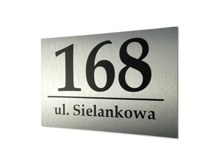 Tablica z numerem domu 30x40