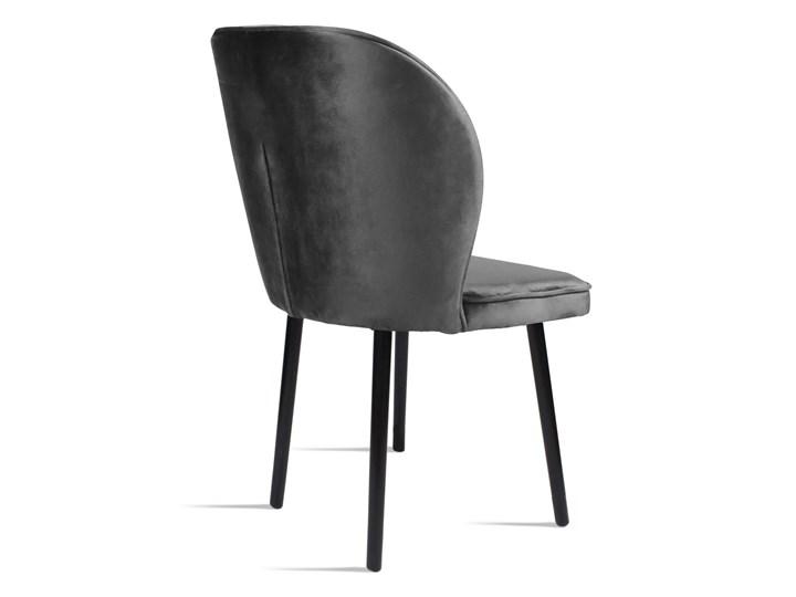 Bettso Krzesło RINO ciemny szary / PA06 Głębokość 60 cm Głębokość 47 cm Szerokość 54 cm Szerokość 87 cm Wysokość 87 cm Wysokość 46 cm Tkanina Drewno Kolor Czarny