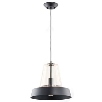 Nowoczesna lampa DRAGON czarna/miedź śr. 39,5cm