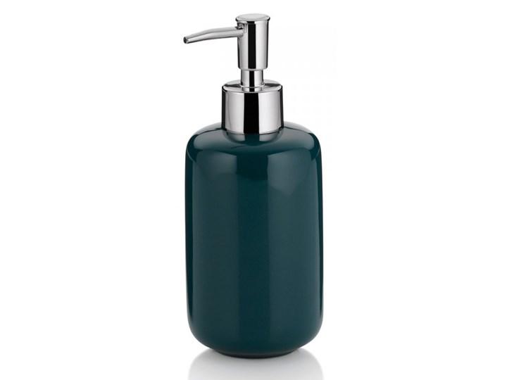 Dozownik na mydło w płynie 400ml Kela ciemnozielony kod: KE-20514 Ceramika Dozowniki Kategoria Mydelniczki i dozowniki