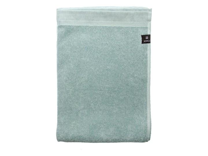 2-pak zielone ręczniki Lina z lnu i bawełny 100x150 HIMLA