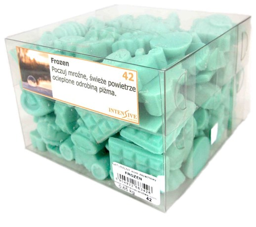 INTENSIVE COLLECTION Scented Wax kg wosk zapachowy - 650 g - Frozen