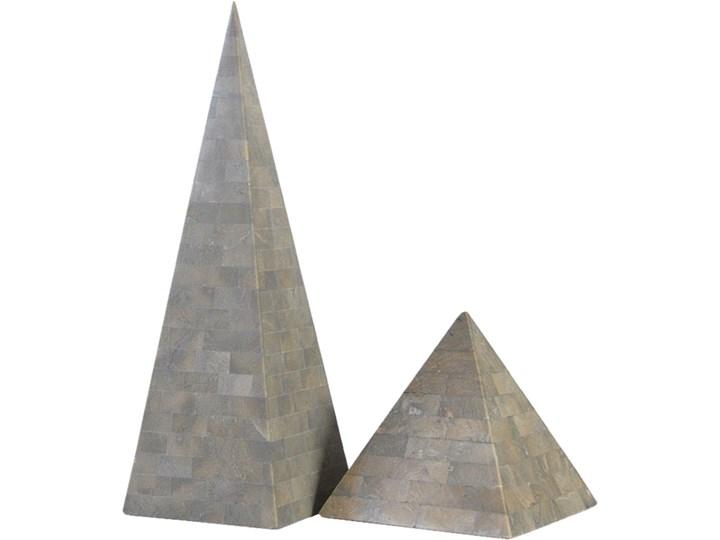 Para piramid dekoracyjnych Kamień Kamień