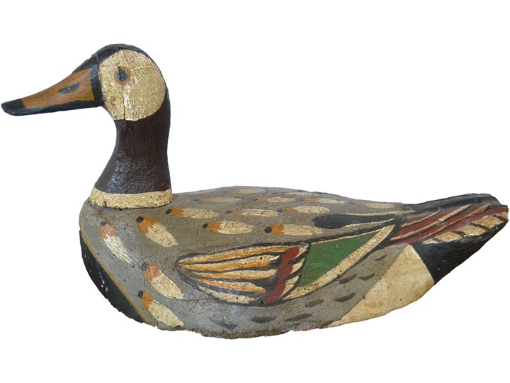 Figurka kaczki, USA, pocz. XX w.