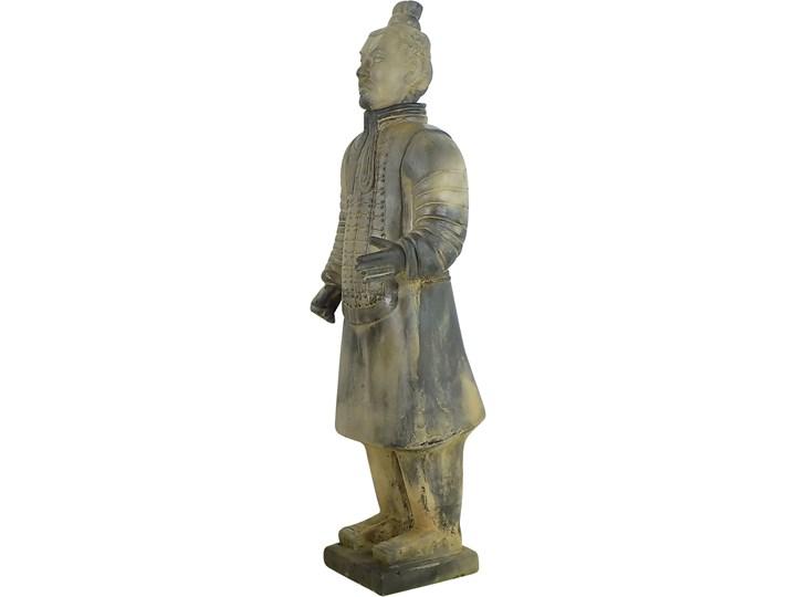Terakotowy chiński żołnierz, lata 70. Glina Glina
