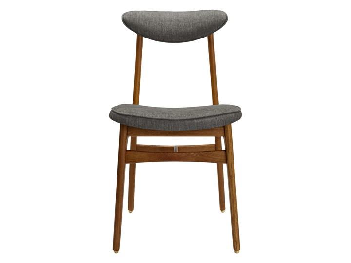 Krzesło 200-190 Loft Grey, proj. R. T. Hałas Krzesło inspirowane Wysokość 46 cm Szerokość 45 cm Wysokość 83 cm Tapicerowane Styl Industrialny Drewno Tkanina Głębokość 52 cm Kolor Szary
