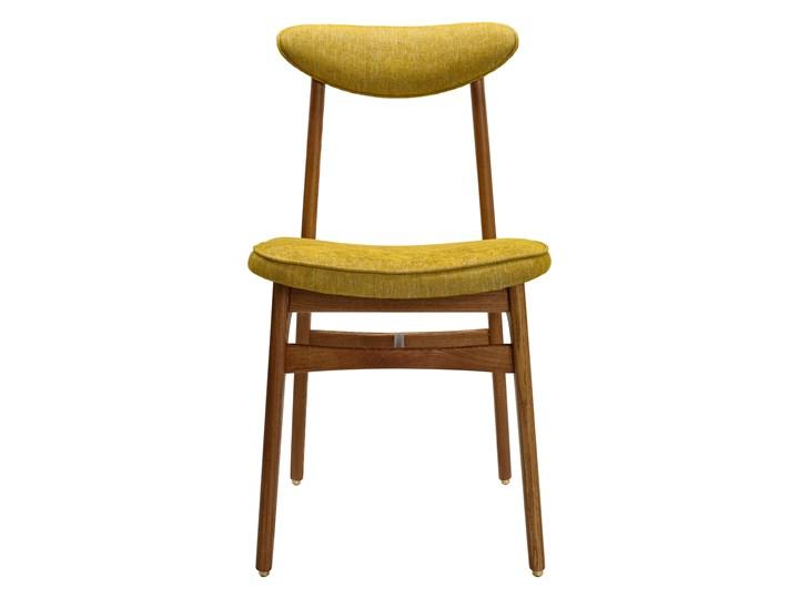 Krzesło 200-190 Loft Mustard, proj. R. T. Hałas Wysokość 46 cm Wysokość 83 cm Głębokość 52 cm Drewno Tkanina Tapicerowane Krzesło inspirowane Szerokość 45 cm Kolor Żółty